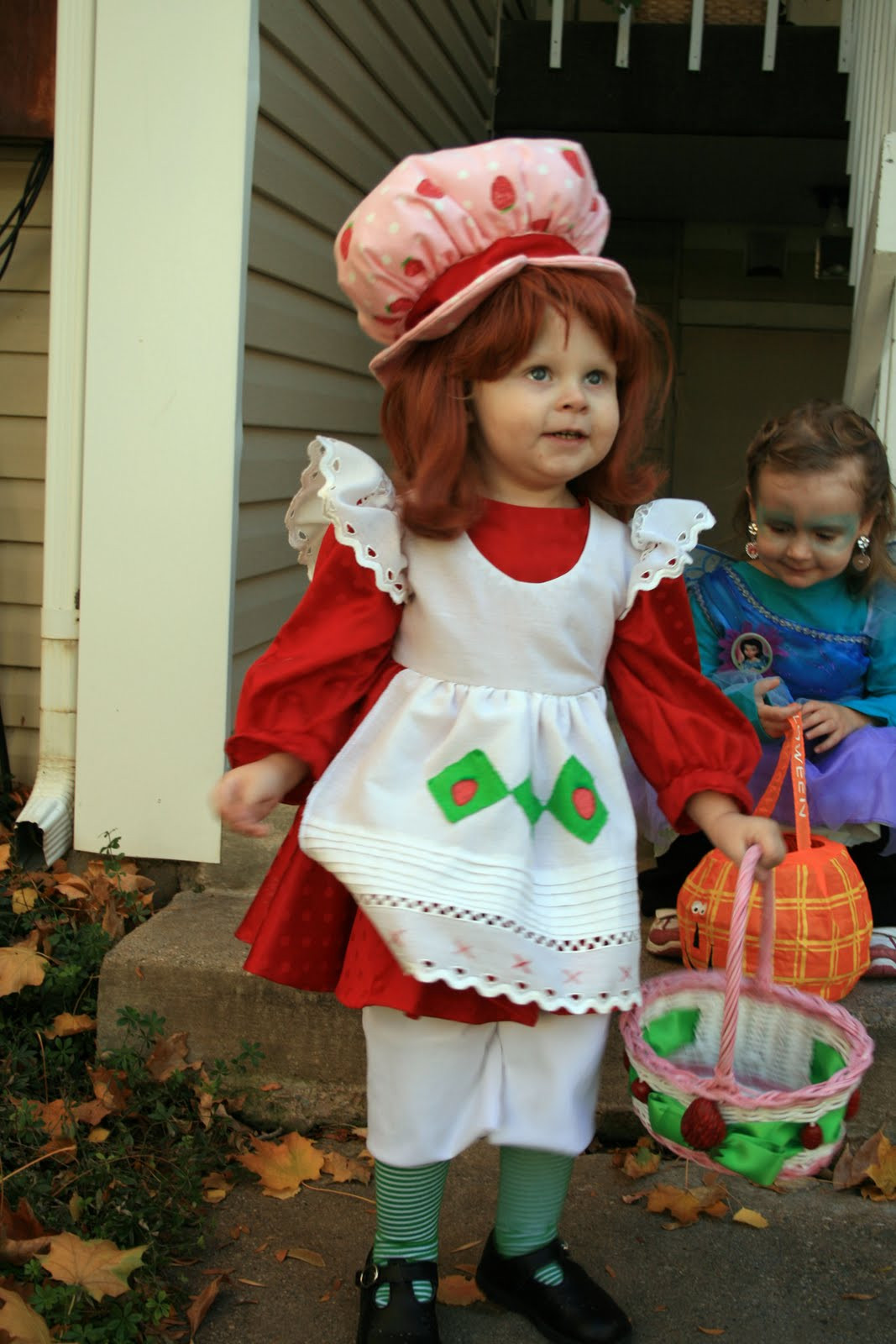 Strawberry Shortcake Halloween Costume  Creative Custom Costumes and Consulting Strawberry