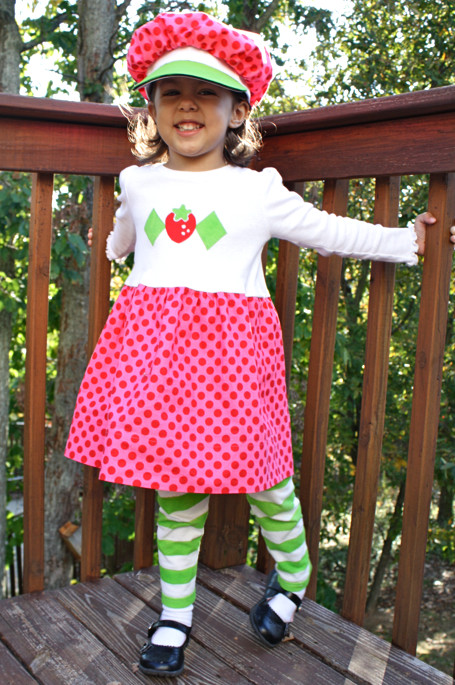 Strawberry Shortcake Halloween Costume  Strawberry Shortcake