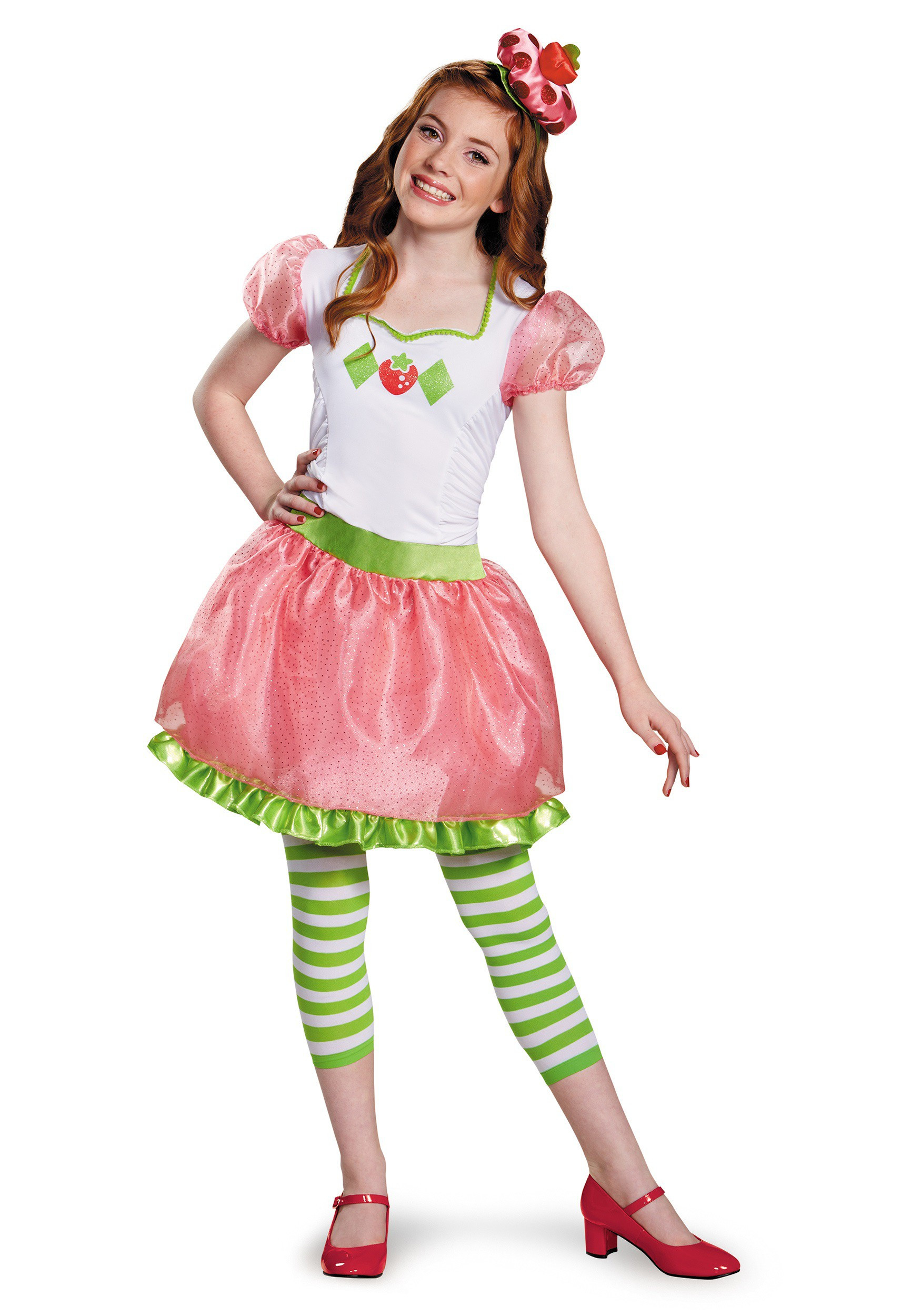Strawberry Shortcake Halloween Costumes  Strawberry Shortcake Tween Costume