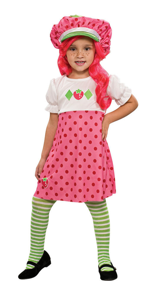 Strawberry Shortcake Halloween Costumes  Girls Strawberry Shortcake Costume Straw Berry Short Cake
