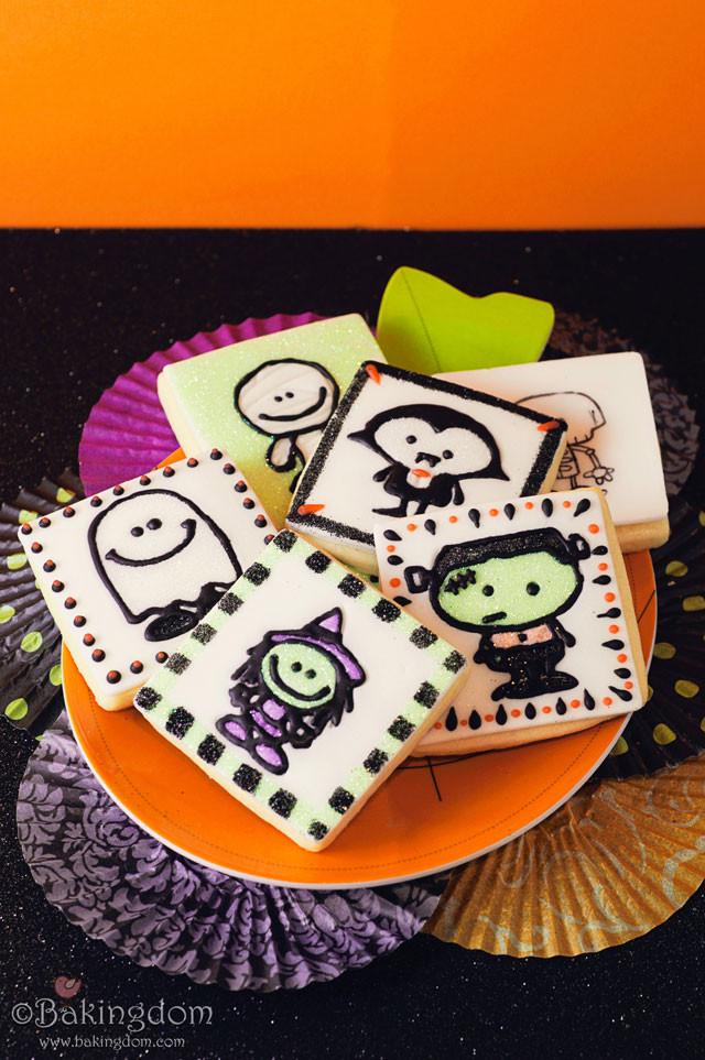 Sugar Cookies Halloween  Easy Stamped Halloween Sugar Cookies