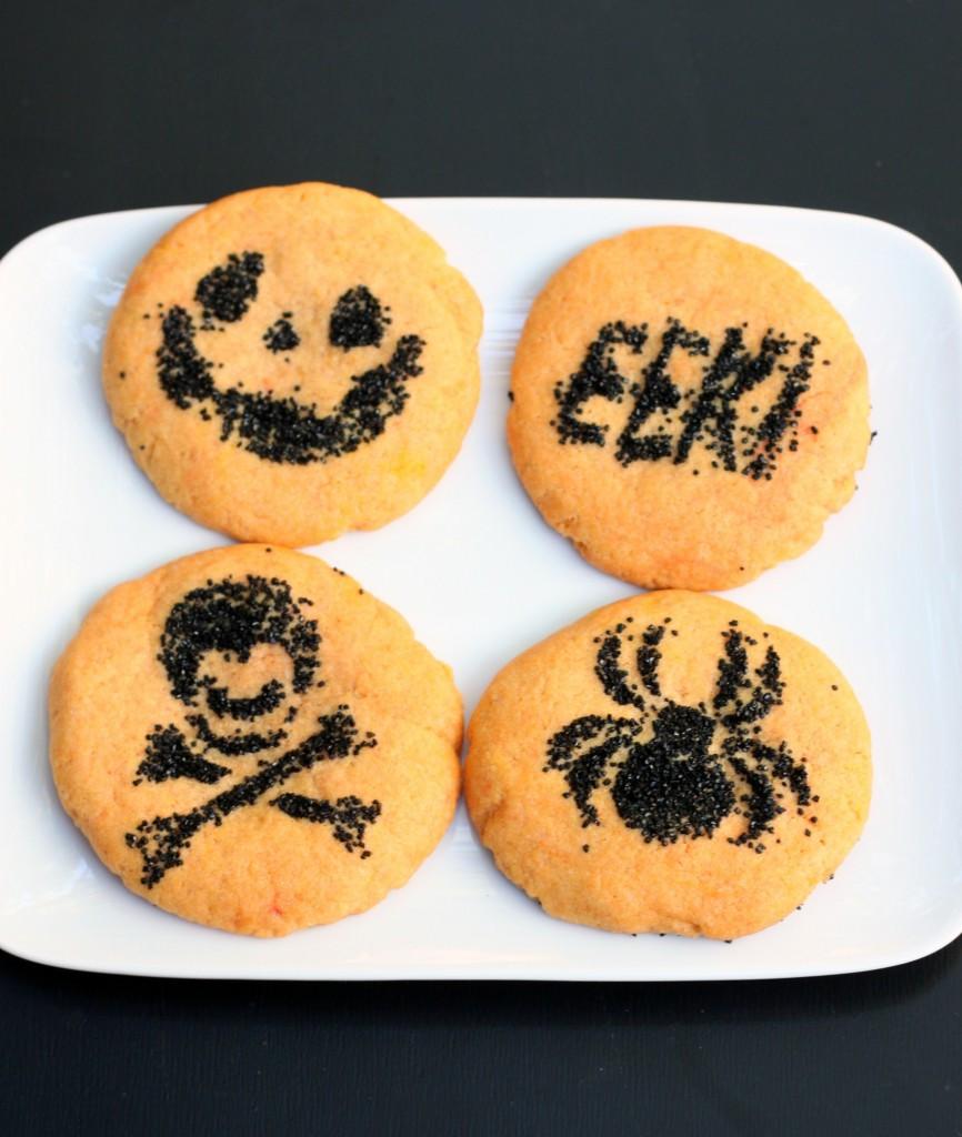 Sugar Cookies Halloween  Simple Halloween Sugar Cookies