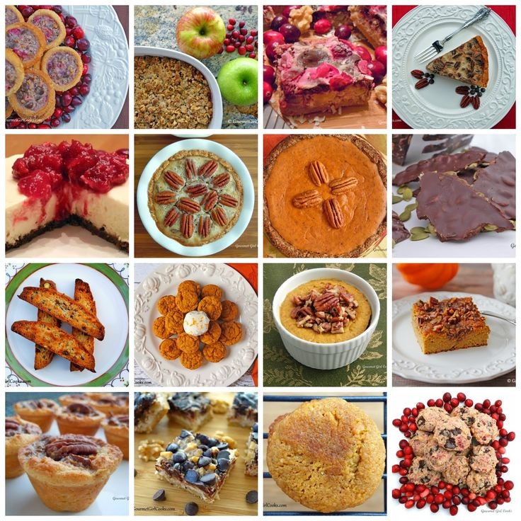 Sugar Free Desserts For Thanksgiving  Gourmet Girl Cooks 16 Thanksgiving Dessert Recipes Low