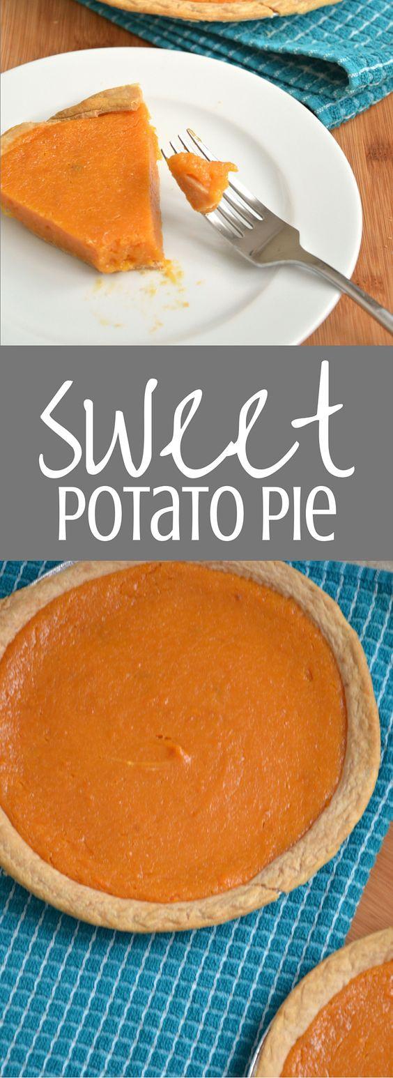 Sweet Potato Pie Thanksgiving  Nanny s Sweet Potato Pie Recipe
