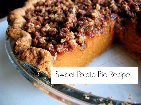 Sweet Potato Pie Thanksgiving  The Perfect Thanksgiving Dessert Sweet Potato Pie