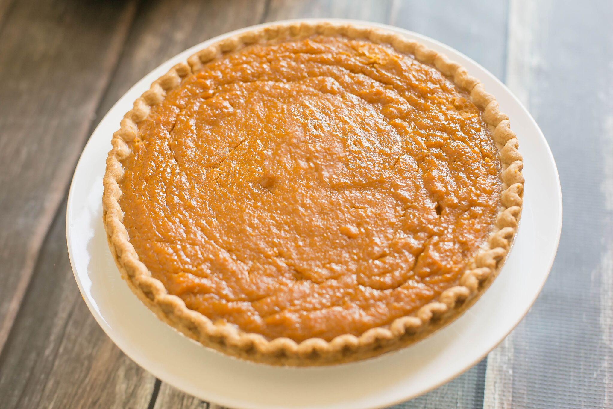 Sweet Potato Pie Thanksgiving  Easy Sweet Potato Pie with Maple Whipped Cream
