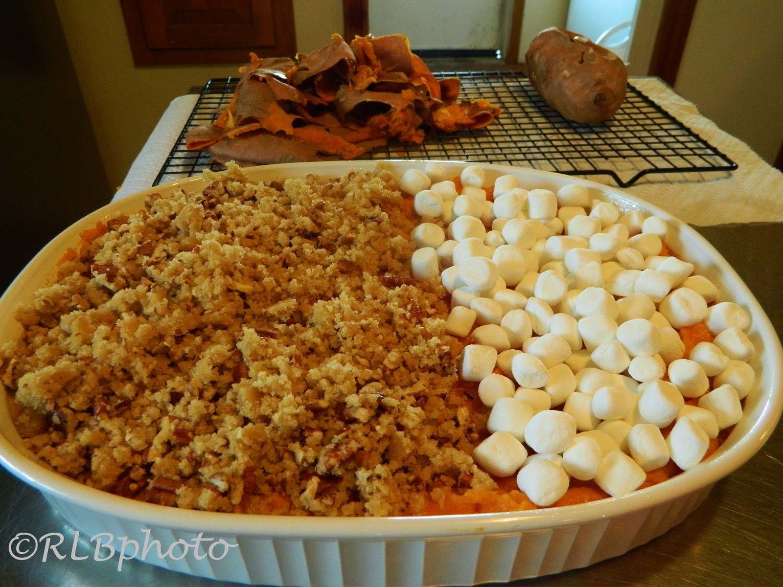 Sweet Potato Thanksgiving  The Curious Country Cook Sweet Potato Casserole for