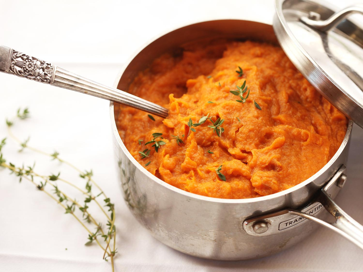 Sweet Potato Thanksgiving  The Food Lab For the Best Mashed Sweet Potatoes Use