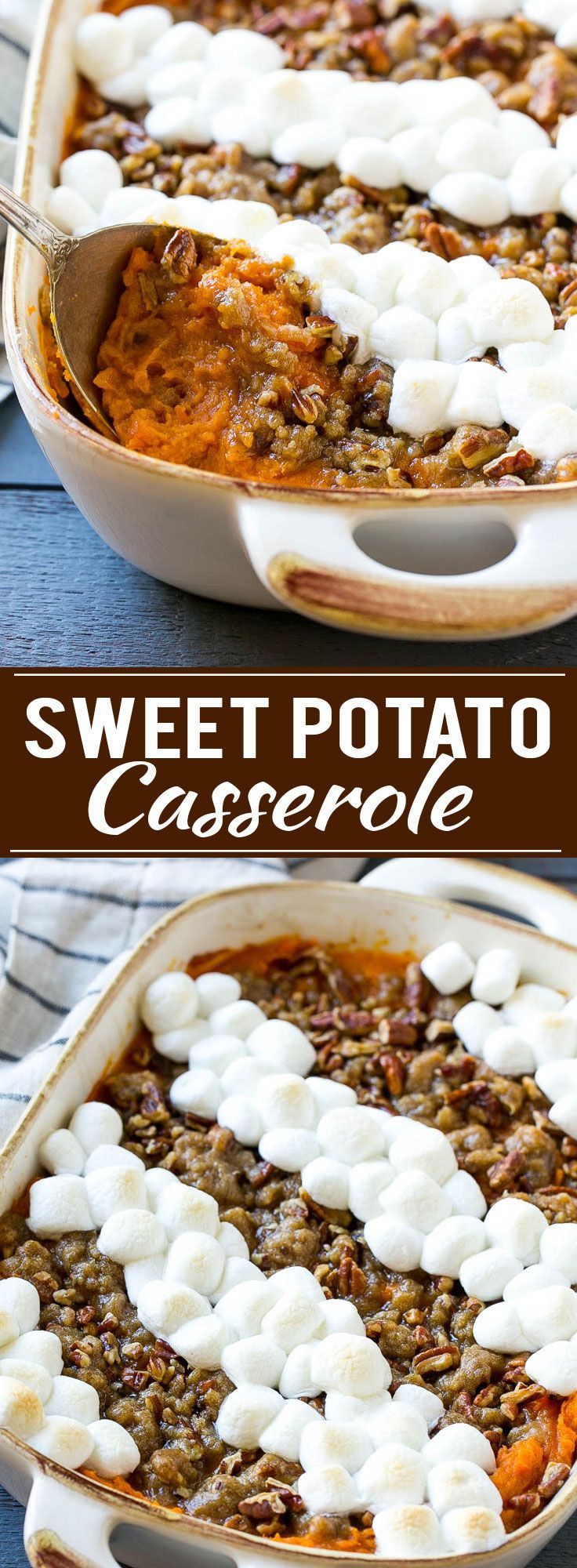 Sweet Potatoes Thanksgiving Marshmallows  Sweet Potato Casserole with Marshmallows