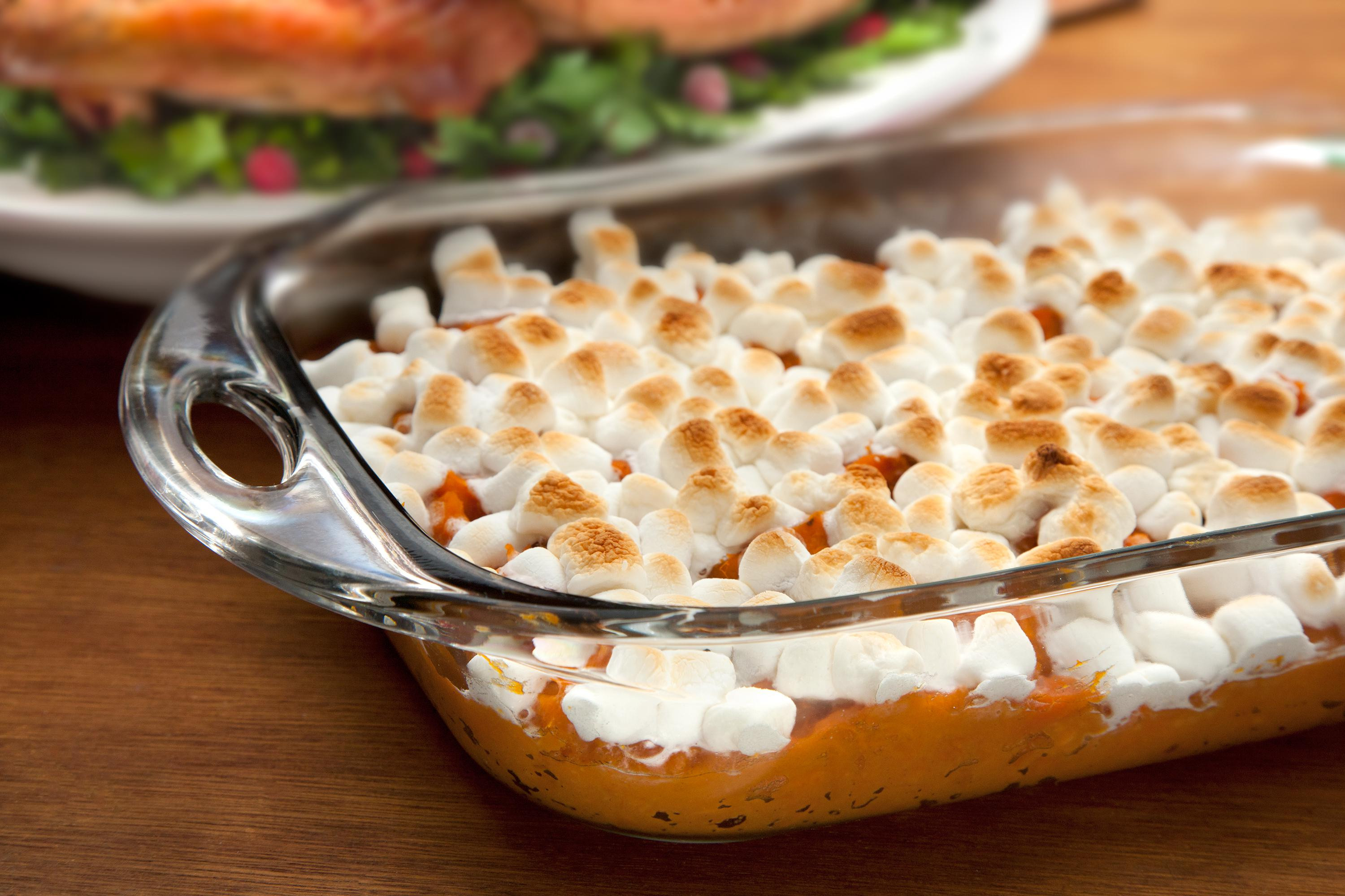 Sweet Potatoes Thanksgiving Marshmallows  If College Majors Were Thanksgiving Foods