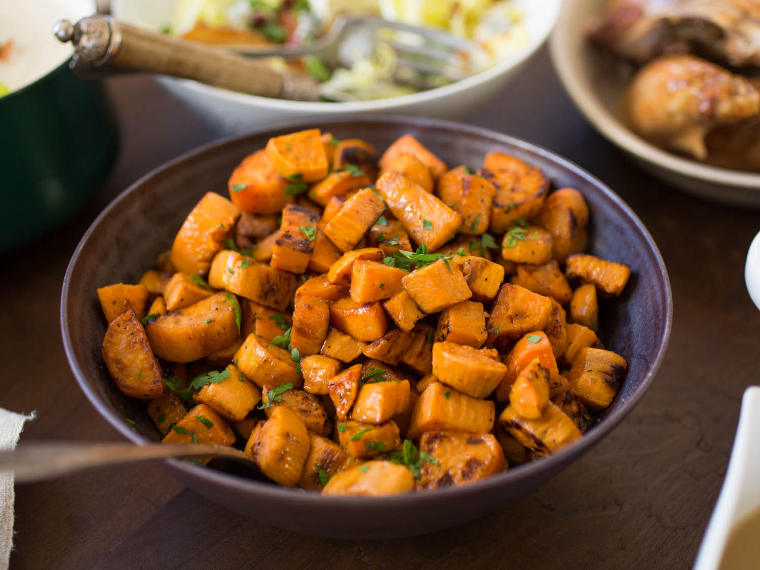Sweet Potatoes Thanksgiving Recipe  8 Not Too Sweet Sweet Potato Recipes for Thanksgiving