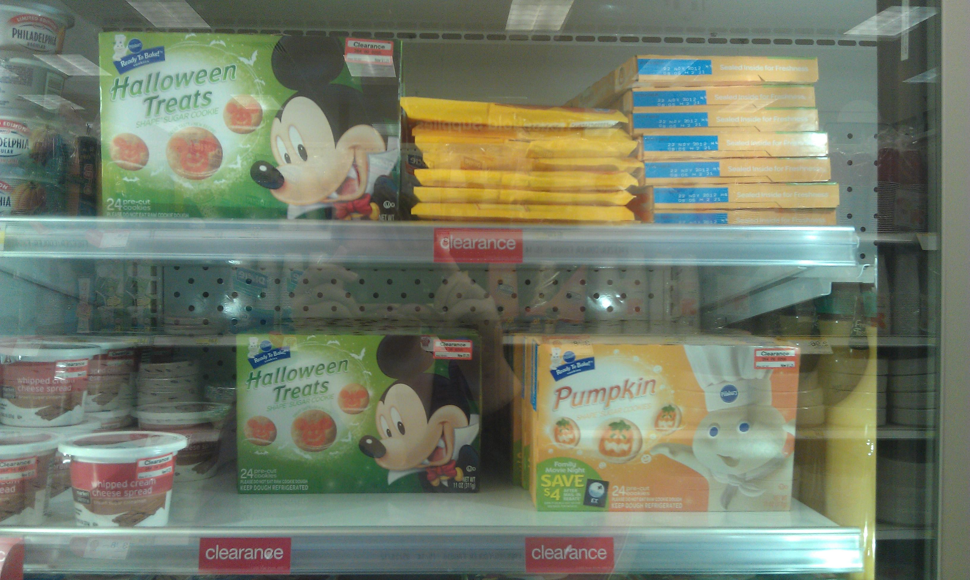 Target Halloween Cookies  $0 75 Pillsbury Cookies at Tar