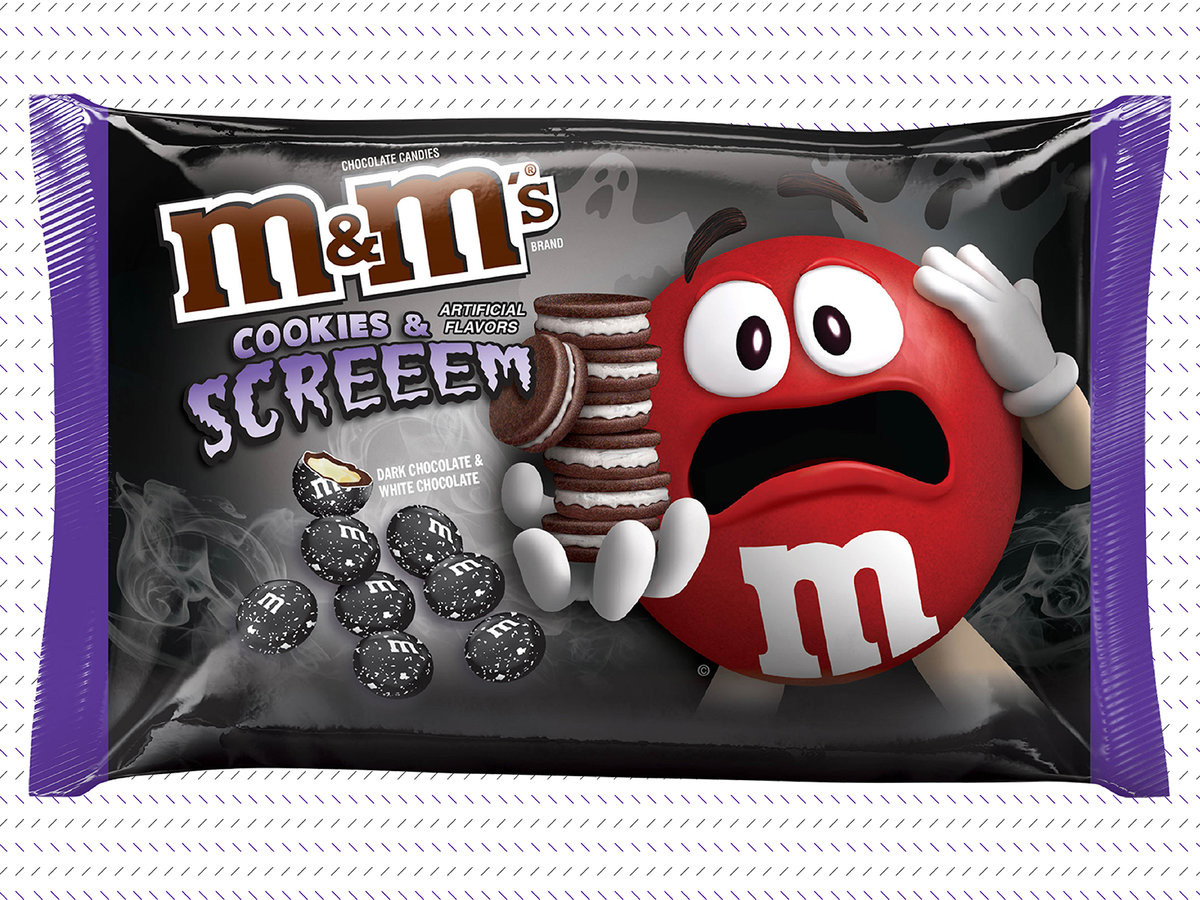 Target Halloween Cookies  Cookies and Cream M&M s Are Already Here Yes Right Now