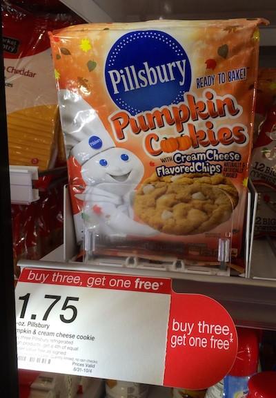 Target Halloween Cookies  Tar Pillsbury Pumpkin Cookies ly 6¢ Per Package