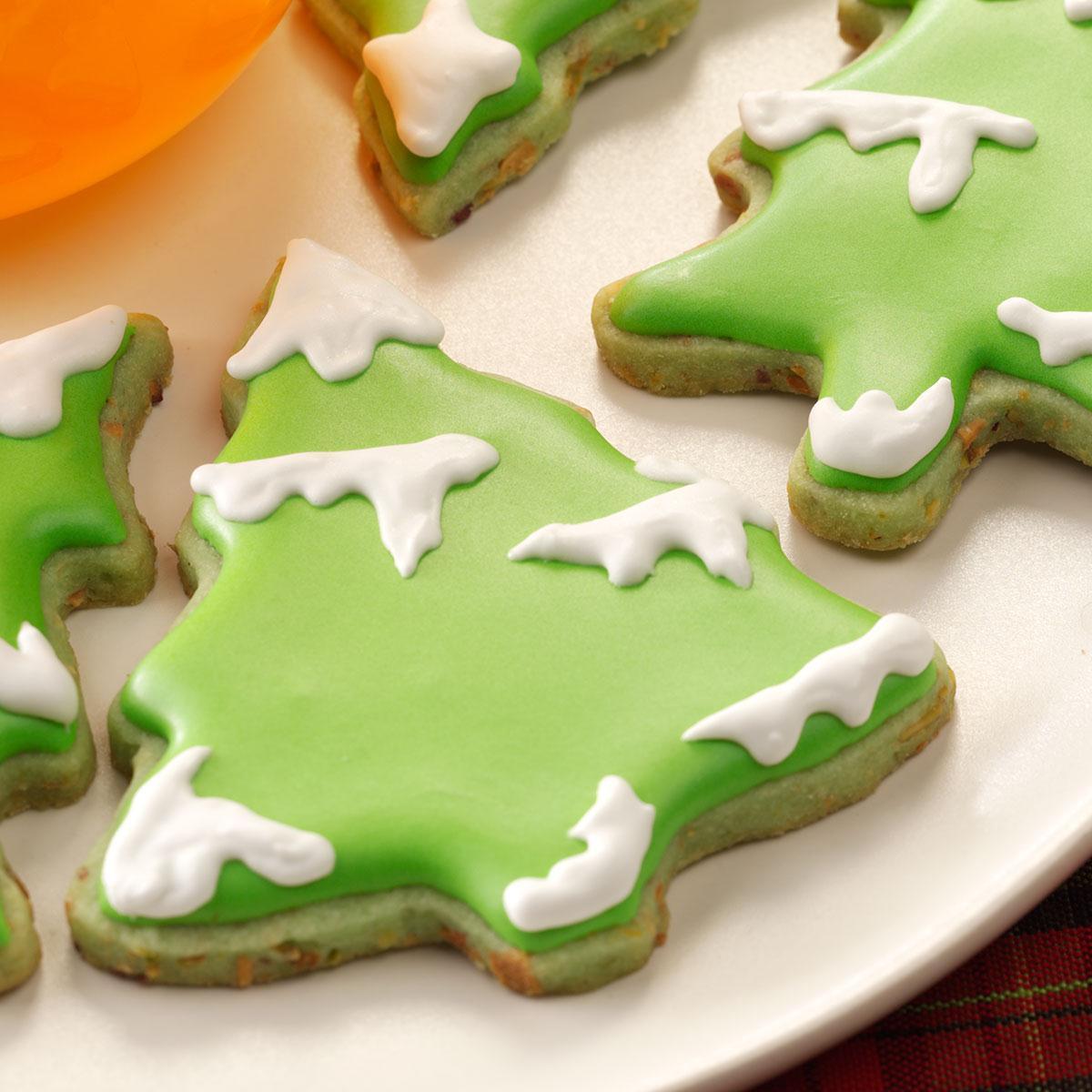 Taste Of Home Christmas Cookies  Lime Christmas Tea Cookies Recipe