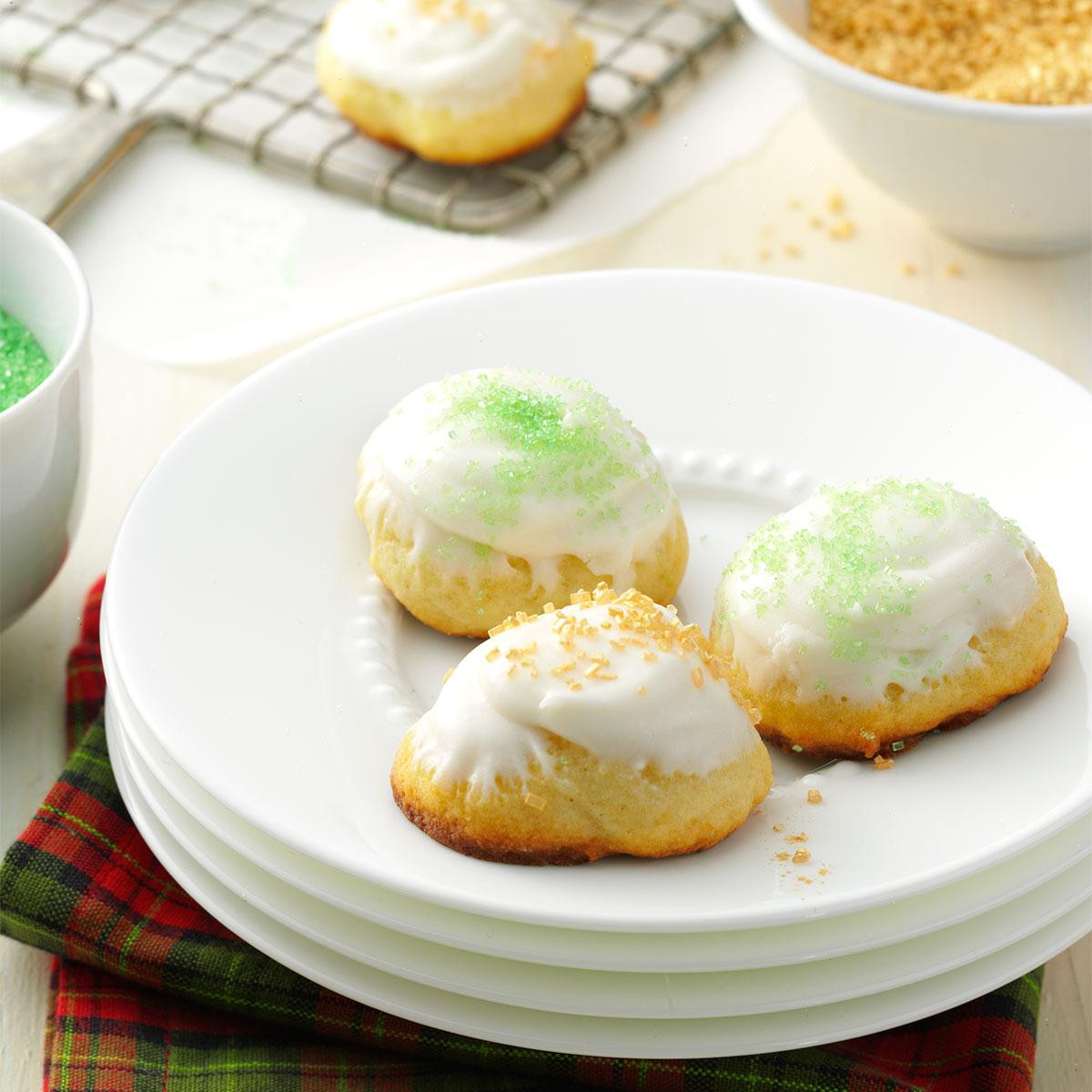 Taste Of Home Christmas Cookies  Italian Christmas Cookies Recipe