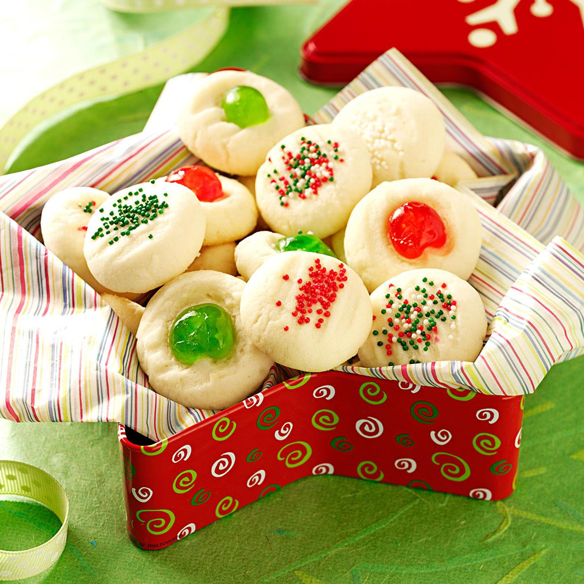 Taste Of Home Christmas Cookies  Whipped Shortbread Recipe