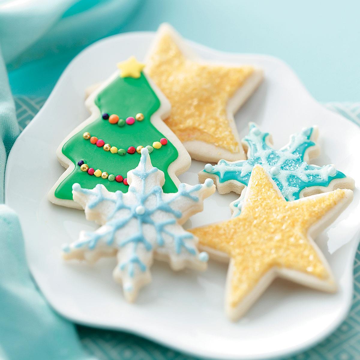 Taste Of Home Christmas Cookies  Favorite Sugar Cookies Recipe