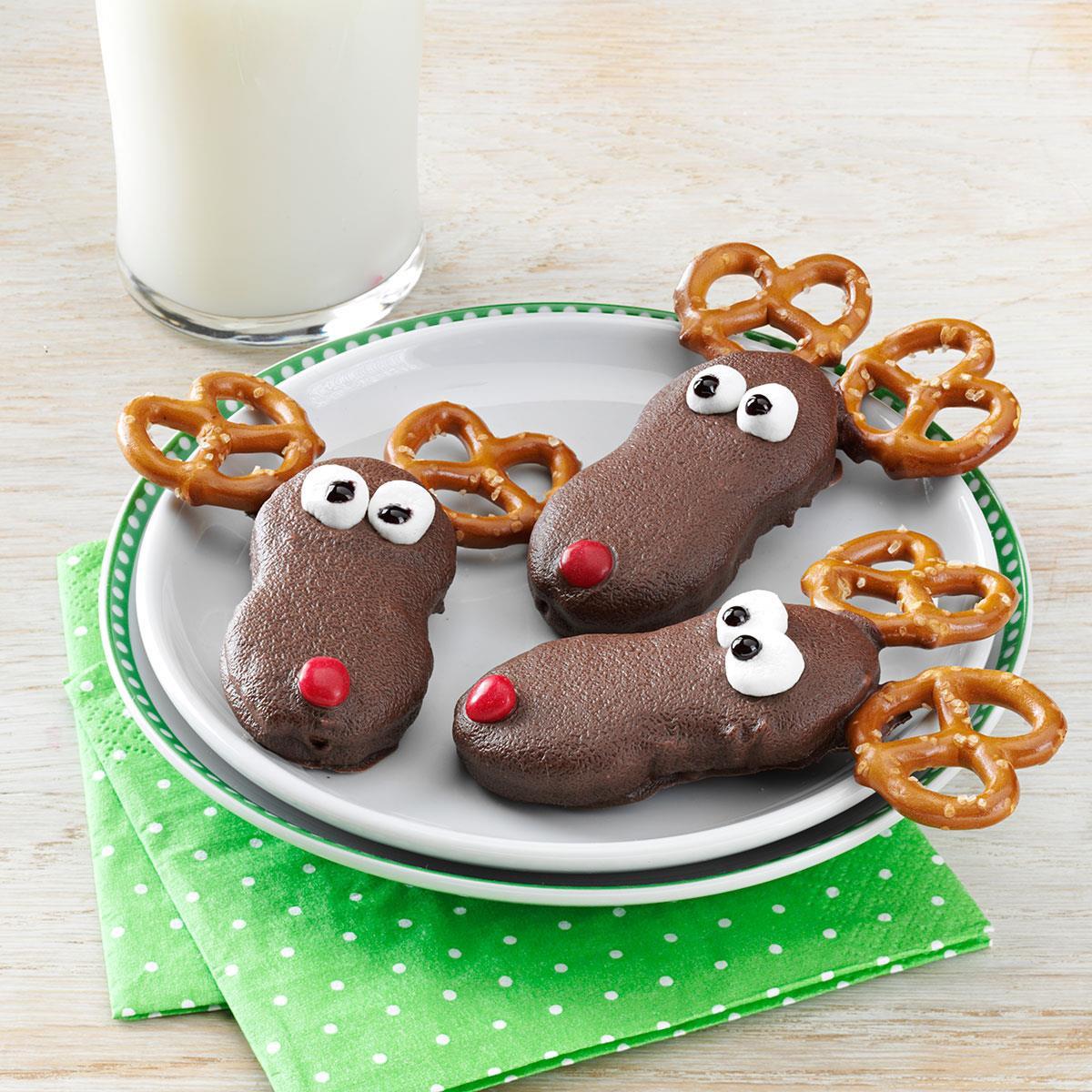 Taste Of Home Christmas Cookies  Holiday Reindeer Cookies Recipe