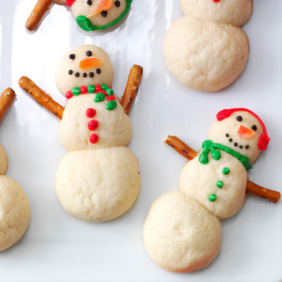 Taste Of Home Christmas Cookies  Snowman Christmas Cookies Recipe