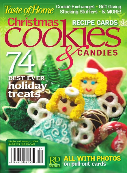Taste Of Home Christmas Cookies  Download Taste of Home – Christmas Cookies&Can s 2008