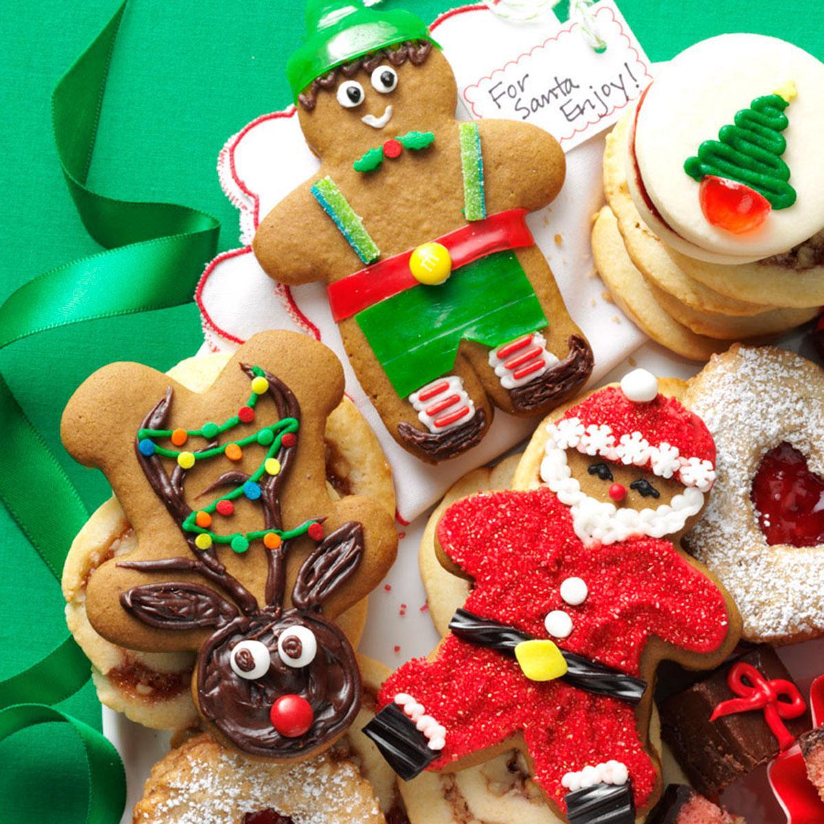 Taste Of Home Christmas Cookies  Gingerbread Cutout Christmas Cookies Recipe