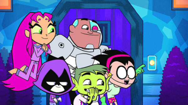 Teen Titans Go! Caramel Apples; Halloween  Teen Titans Go Season 2 Episode 10