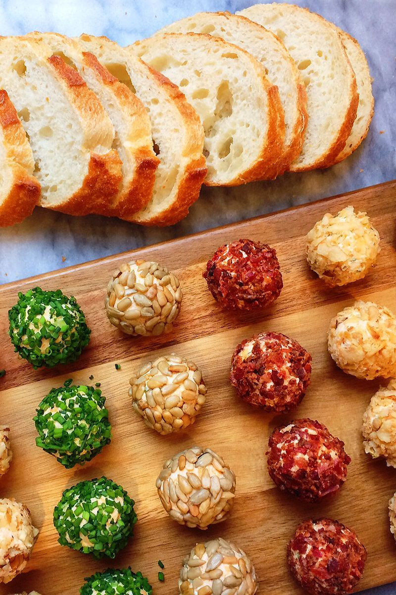 Thanksgiving 2019 Appetizers  Cheese Ball Bites Are the Ultimate Make Ahead Christmas