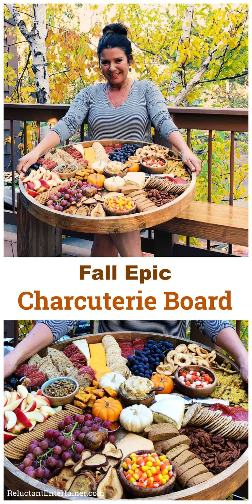 Thanksgiving 2019 Appetizers  Fall Epic Charcuterie Board
