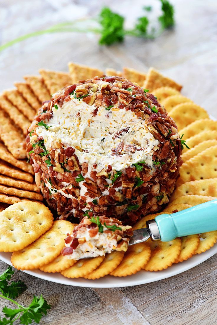 Thanksgiving 2019 Appetizers  Best Ever Bacon Ranch Cheese Ball