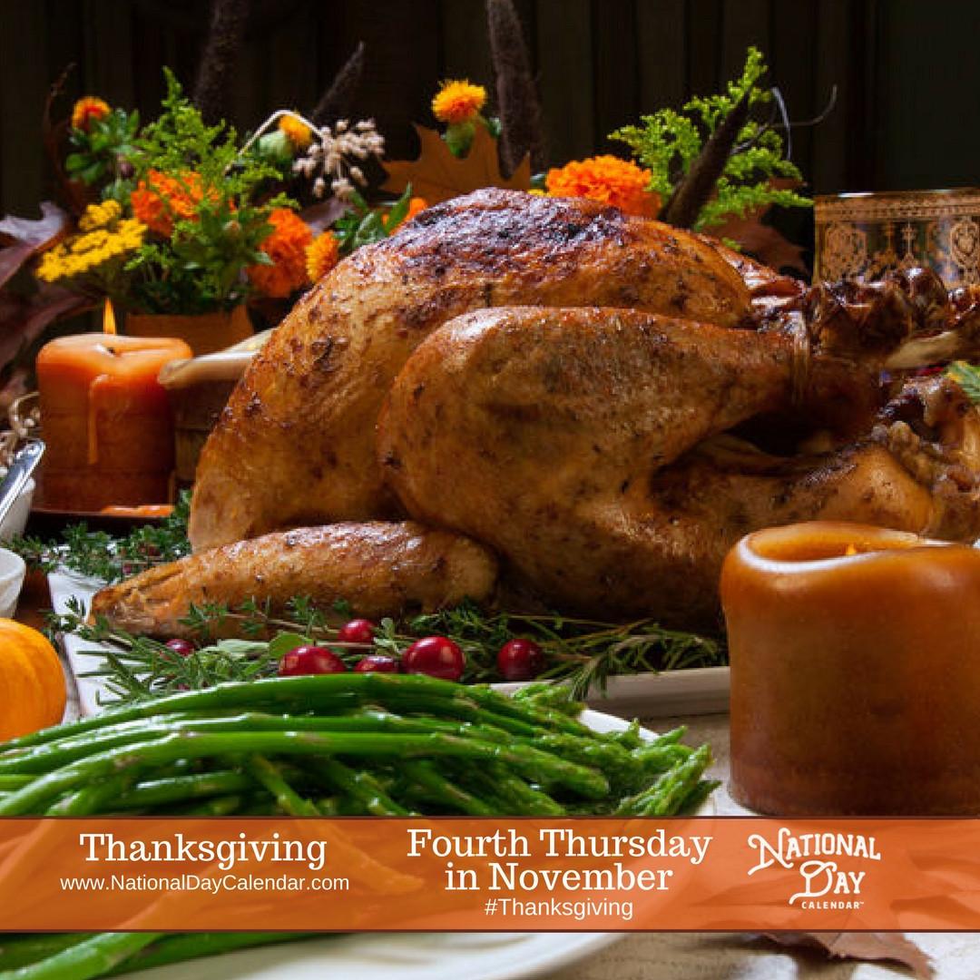 Thanksgiving 2019 Turkey  THANKSGIVING DAY Fourth Thursday in November National