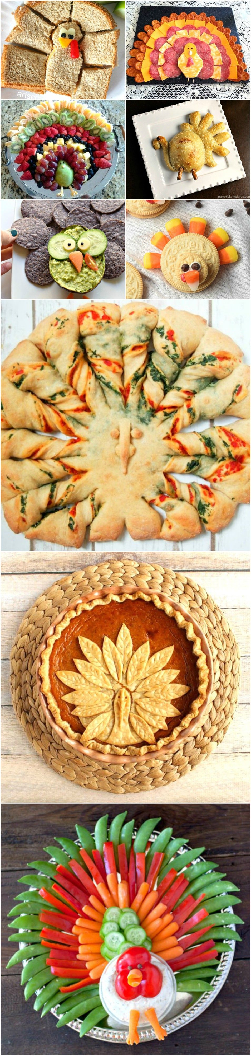 Thanksgiving Appetizers For Kids  Turkey Shaped Food for Your Thanksgiving Feast
