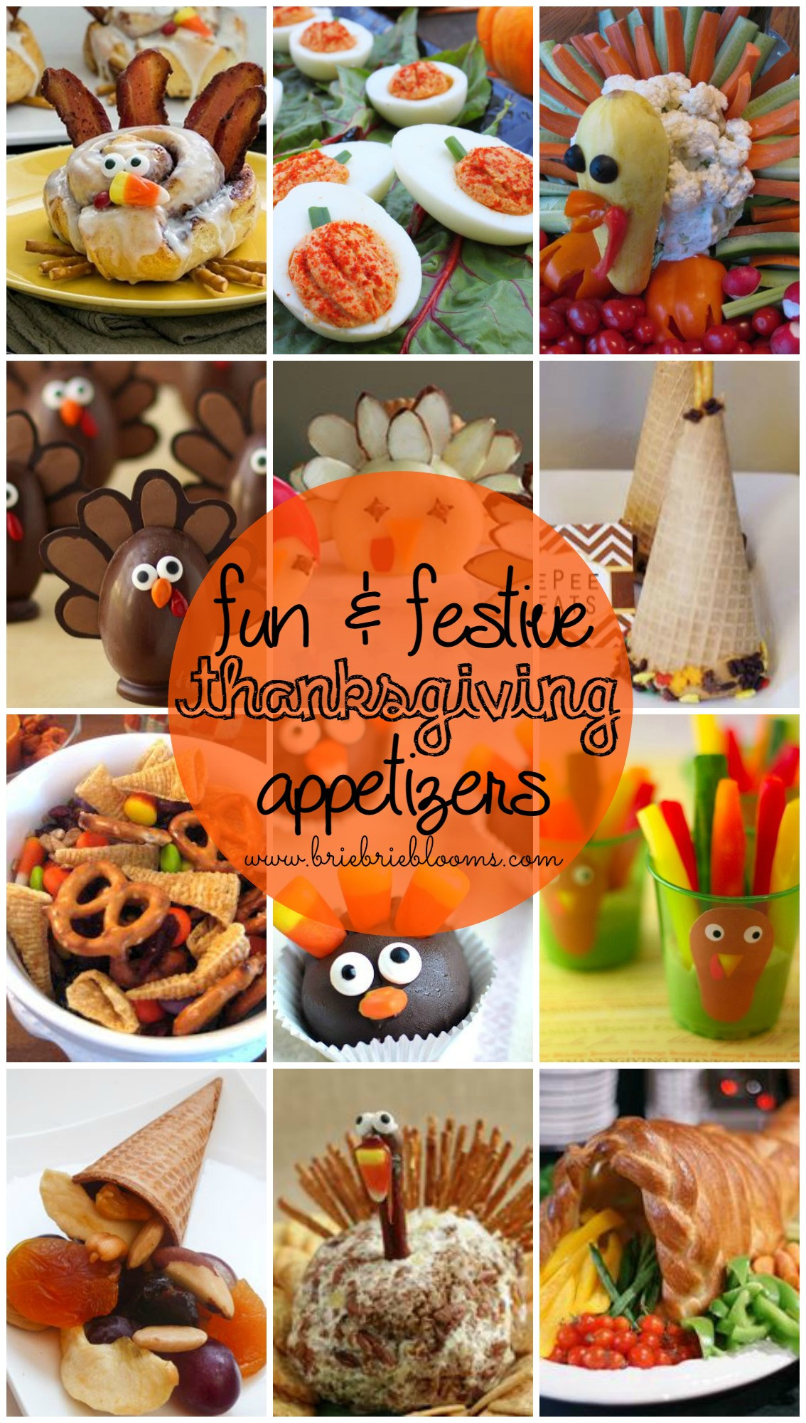 Thanksgiving Appetizers For Kids  Fun and Festive Thanksgiving Appetizers Brie Brie Blooms