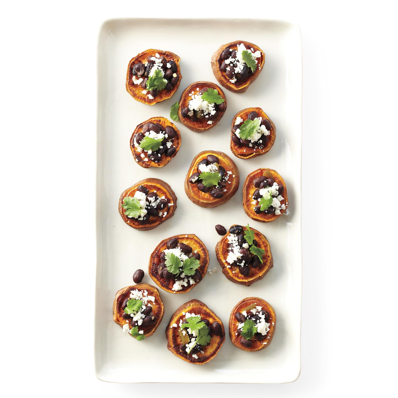 Thanksgiving Appetizers Martha Stewart  Sweet Potato Rounds