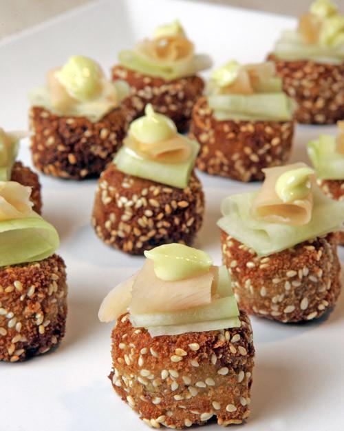 Thanksgiving Appetizers Martha Stewart  Mini Asian Crab Cakes