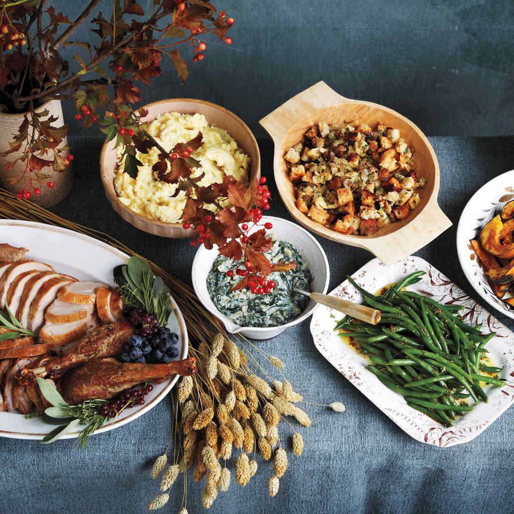 Thanksgiving Appetizers Martha Stewart  Thanksgiving Dinner Recipes