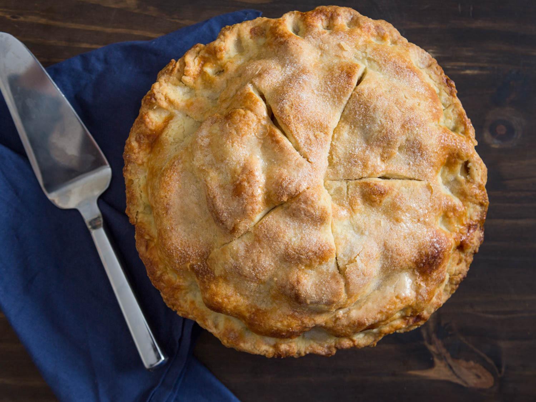 Thanksgiving Apple Pie Recipe  Perfect Apple Pie Recipe