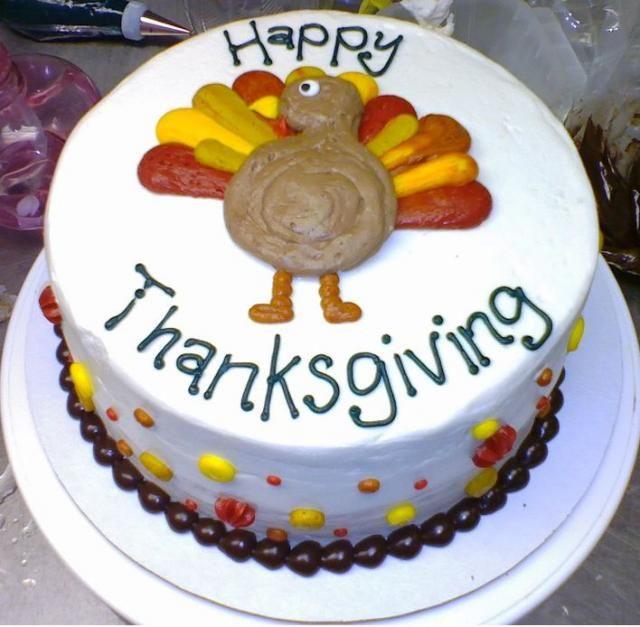 Thanksgiving Birthday Cake  Best 25 Turkey cake ideas on Pinterest