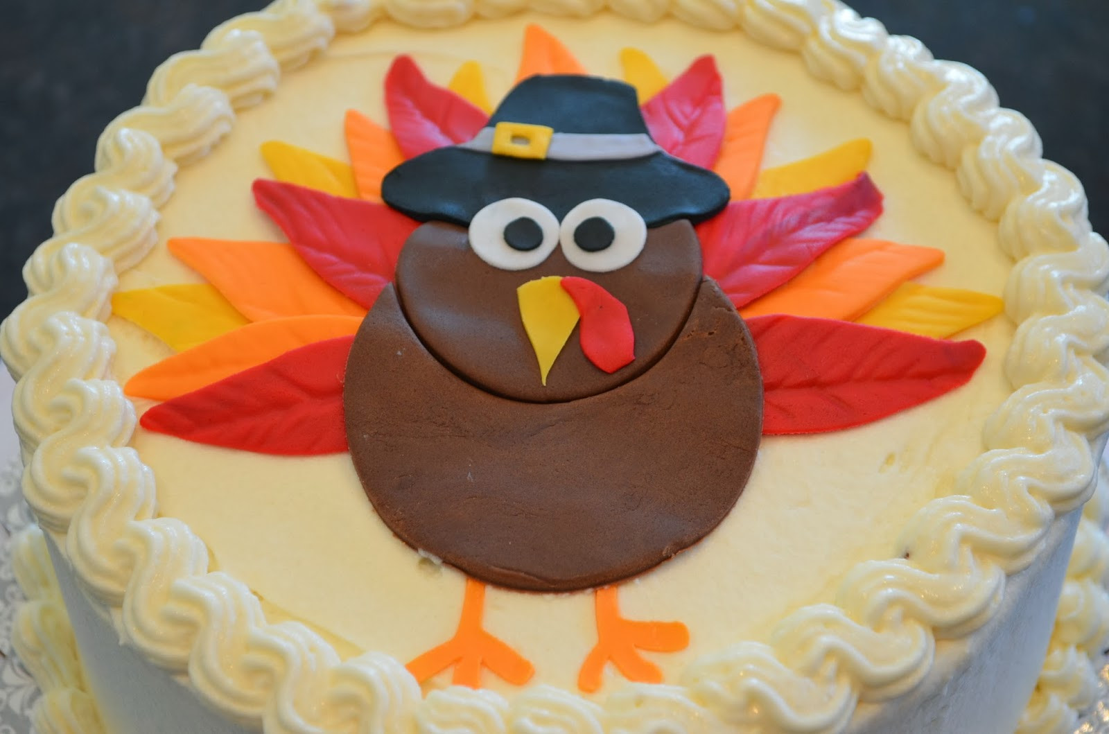 Thanksgiving Birthday Cake  Cake Mama Birthday Turkey