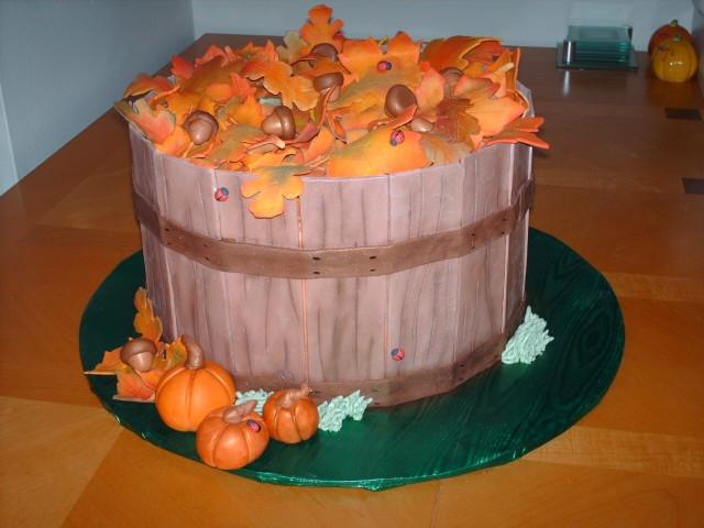 Thanksgiving Birthday Cake  Birthday Thanksgiving cake Cakes