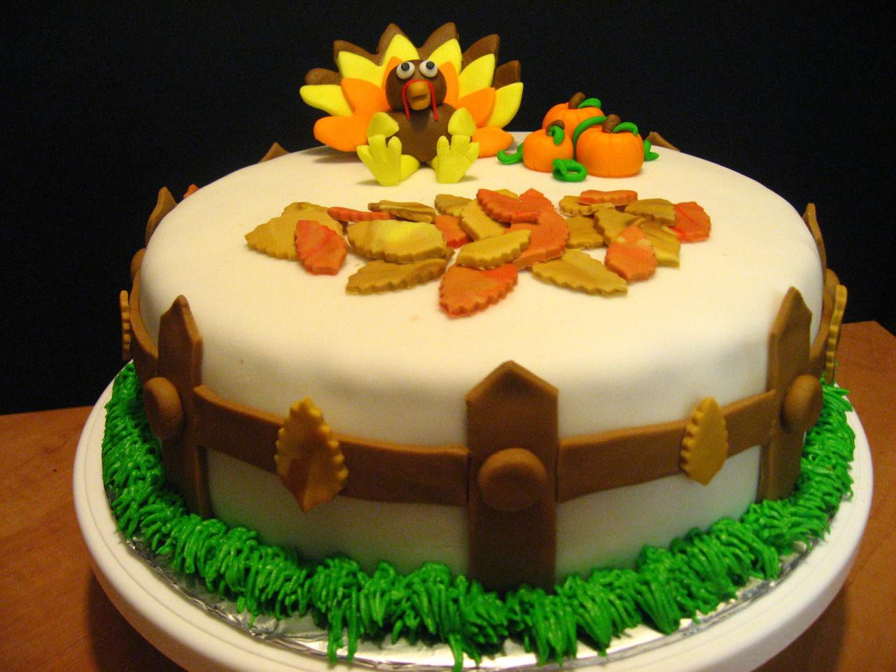 Thanksgiving Birthday Cake  Wreck the Halls Tips For Having The Best Holiday Season