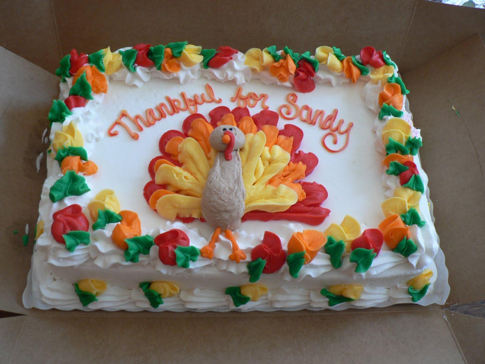 Thanksgiving Birthday Cake  Thanksgiving Cakes – Decoration Ideas