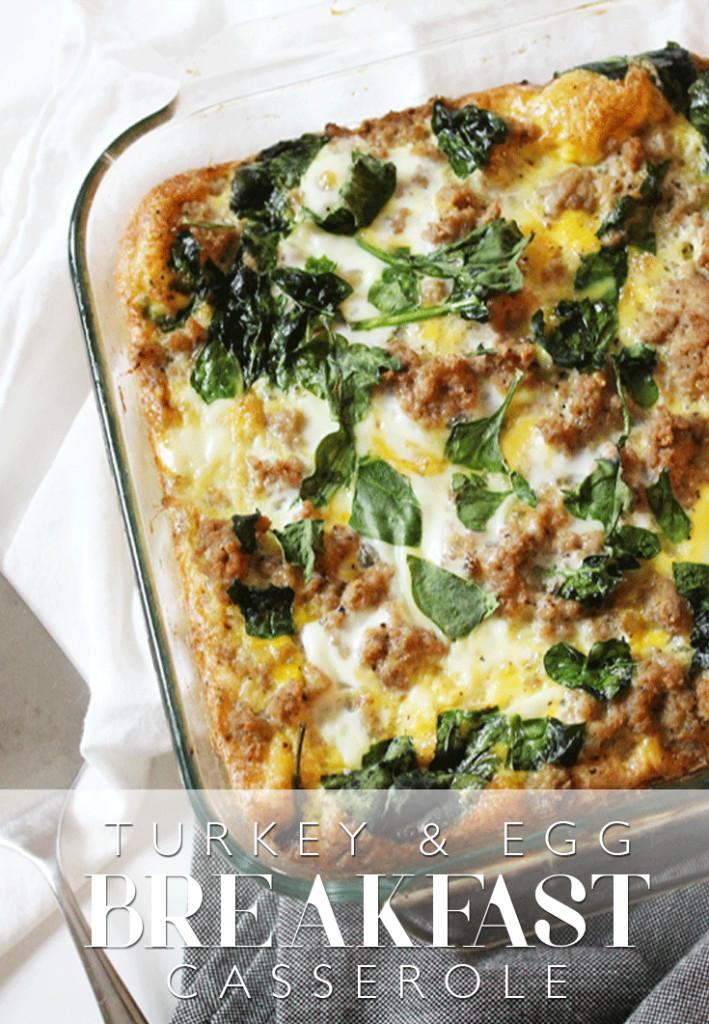 Thanksgiving Breakfast Casserole  35 Healthy Breakfast Recipes