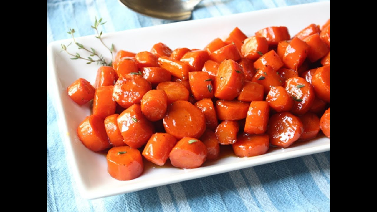 Thanksgiving Carrot Recipes  Bourbon Glazed Carrots Special Occasion Carrot Side Dish