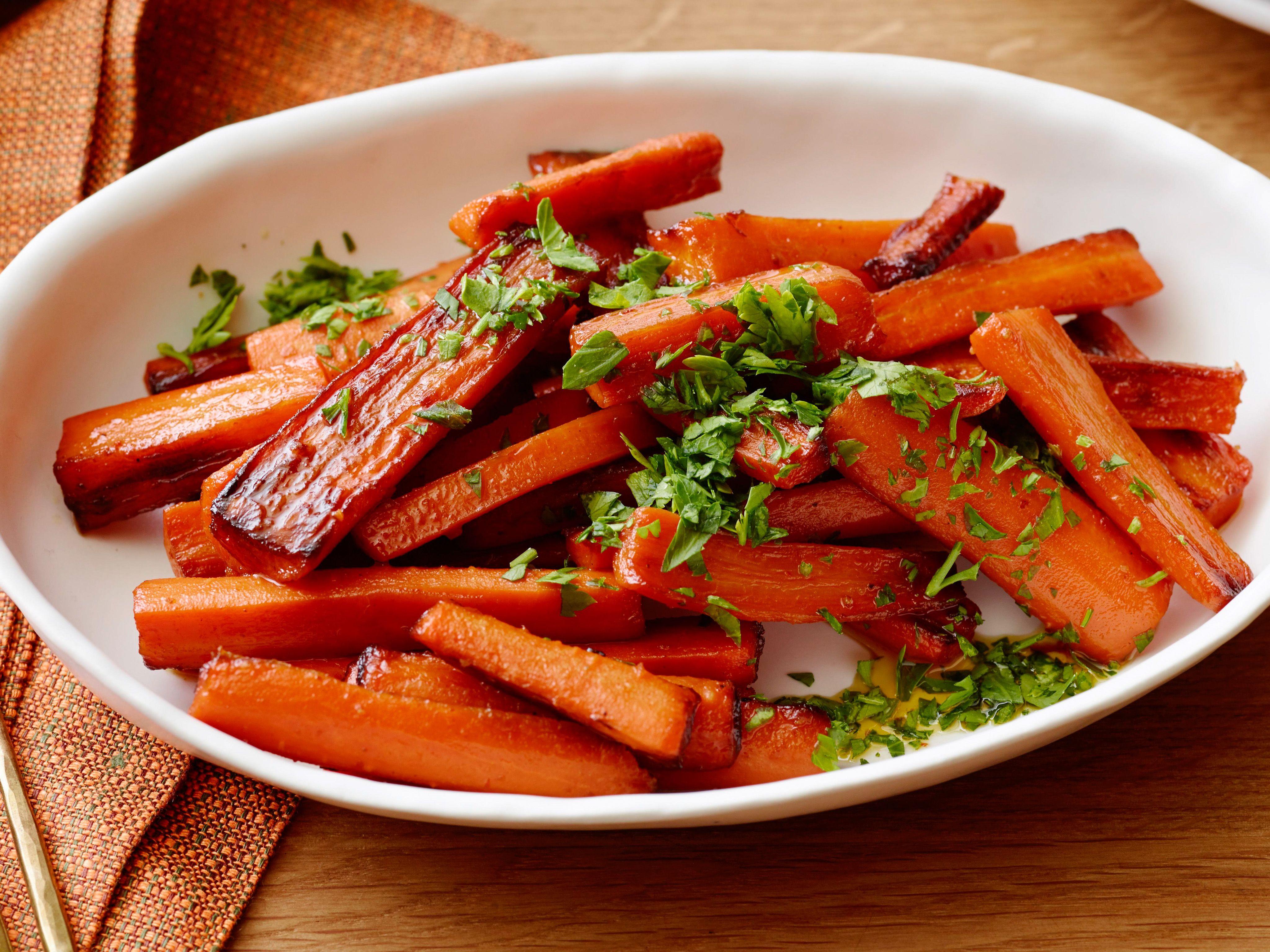 Thanksgiving Carrot Recipes  Glazed Carrots Recipe