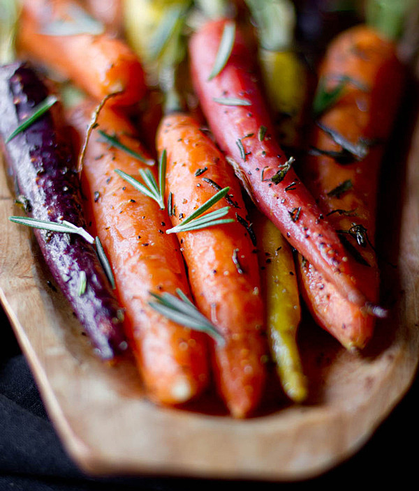 Thanksgiving Carrot Recipes  Rosemary Roasted Carrots Recipe