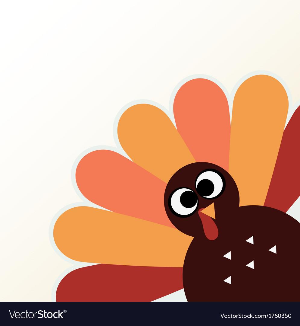 Thanksgiving Cartoon Turkey  Beautiful cartoon Turkey Bird for Thanksgiving day