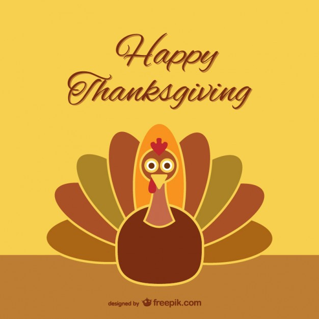 Thanksgiving Cartoon Turkey  Thanksgiving turkey cartoon Vector
