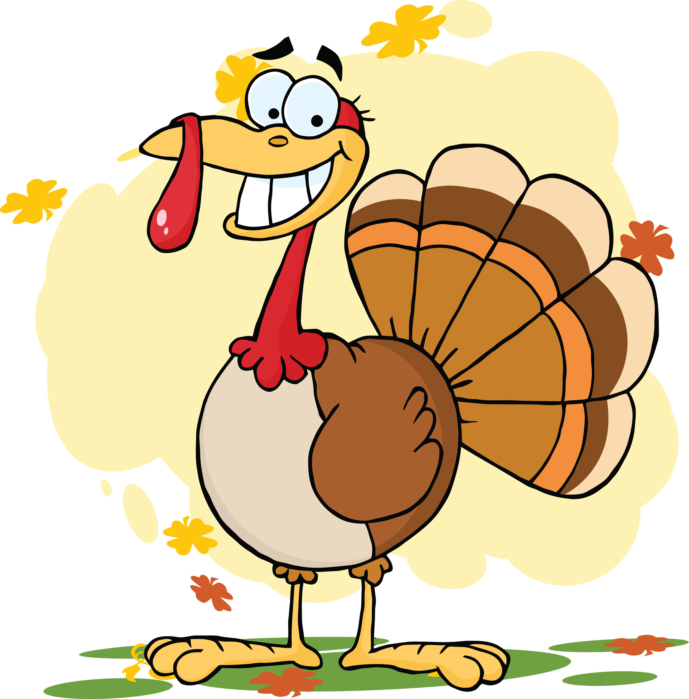 Thanksgiving Cartoon Turkey  Friday Feature steinbronn