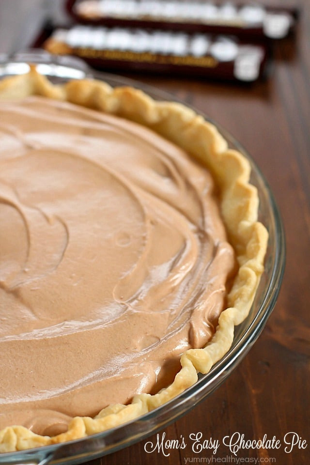 Thanksgiving Chocolate Pie  Best Thanksgiving Dessert Recipes That Skinny Chick Can Bake